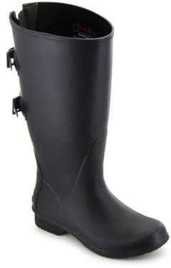 Chooka Versa Wide Calf Rubber Tall Rain Boots
