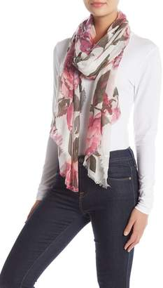 Collection XIIX Floral Oblong Scarf