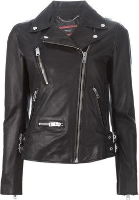 Diesel 'L-Monet' biker jacket $807.76 thestylecure.com