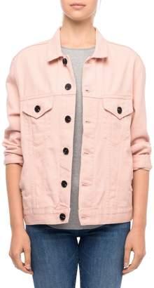 Line Button-Down Denim Jacket