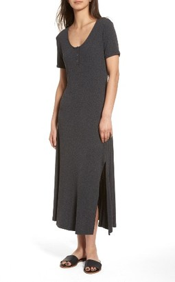 Women's Lush Rib Knit Midi Dress $49 thestylecure.com
