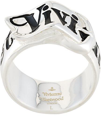 Vivienne WestwoodVivienne Westwood logo belt ring