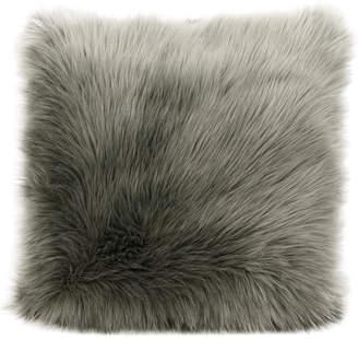 Nourison Mina Victory Fur Remen Poly Throw Pillow