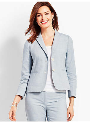 Talbots Biscay Double-Button Blazer