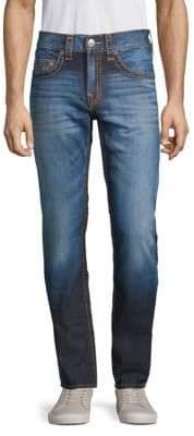 True Religion Contrast Stitch Skinny Jeans