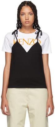 Kenzo Black Mini Camisole T-Shirt