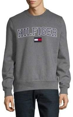 Tommy Hilfiger Collegiate Logo Crew Sweatshirt