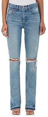 GRLFRND Women's Natalia Distressed Skinny Jeans