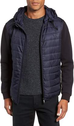 Vince Camuto Slim Fit Quilted Performance Jacket