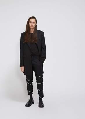 Comme des Garcons Wool Stripe Coat