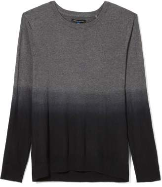 Vince Camuto Mens Dip-dye Crewneck Sweater
