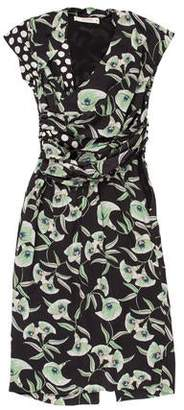 Etro Printed Silk Dress