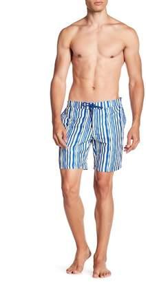 BEACH BROS Wavy Stripe Boardshorts