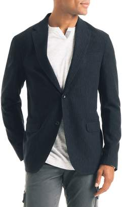 Good Man Brand Uptown Trim Fit Stripe Wool Blend Sport Coat