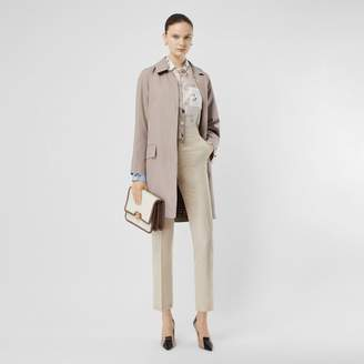 Burberry Cotton Gabardine Car Coat