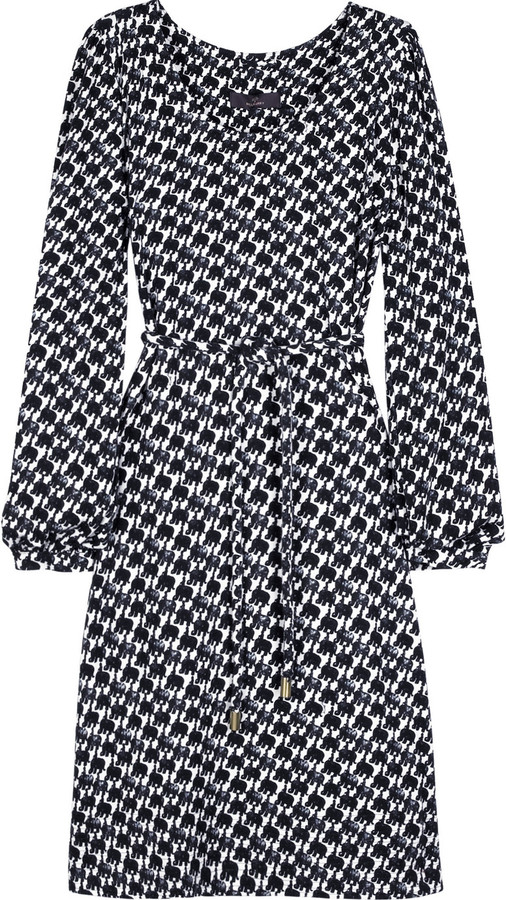 Mulberry Elephant print dress