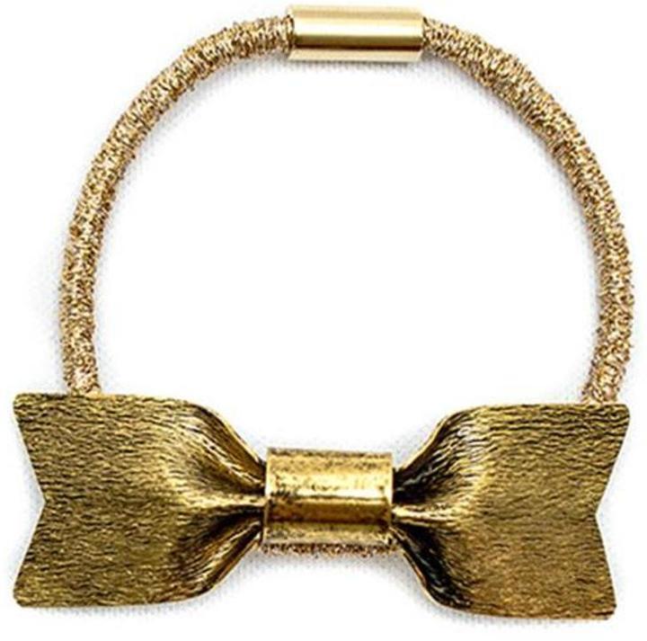 Jennifer Behr Gold Ponytail Wrap
