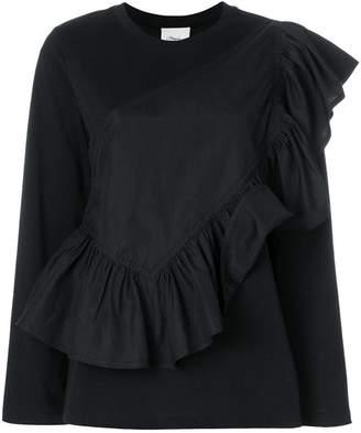 3.1 Phillip Lim Flamenco long-sleeve T-shirt