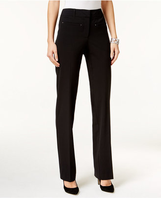 Style & Co Slim-Fit Career Pants, Only at Macy's $49.50 thestylecure.com