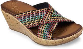 Skechers Delighted Wedge Sandal - Women's