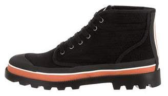 Valentino Round-Toe High-Top Sneakers w/ Tags