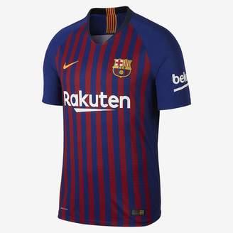 Nike 2018/19 FC Barcelona Vapor Match Home Men's Soccer Jersey