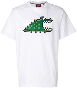Mostly Heard Rarely Seen 8-Bit pixel croc print T-shirt