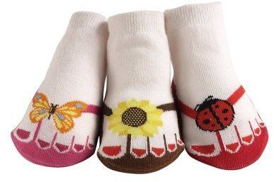 Jazzy Toes Little Sunshine Flip Flops Socks
