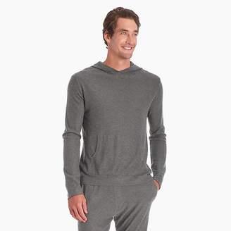 J.Crew NAADAM Axis silk-cashmere hoodie