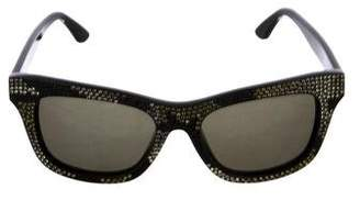Valentino Strass Camouflage Sunglasses