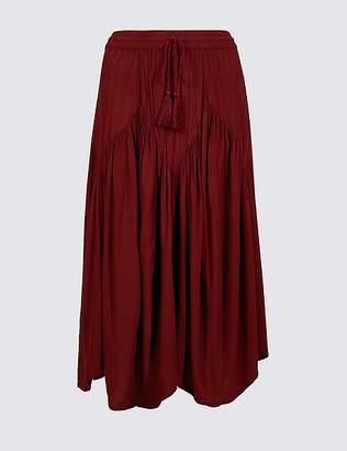 Marks and Spencer Flared Full Midi Skirt