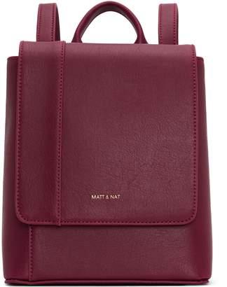 Matt & Nat DEELY Mini Backpack - Garnet