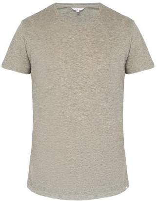 Orlebar Brown Ob T Cotton T Shirt - Mens - Grey