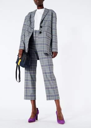 Tibi Lucas Suiting Oversized Blazer