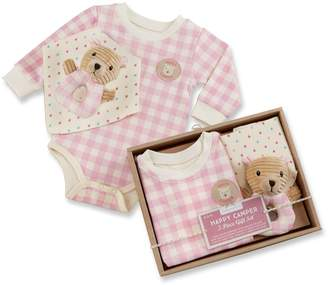 Baby Aspen Happy Camper Pink Plaid 3-pc. Gift Set