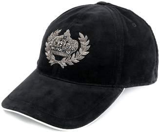 Dolce & Gabbana velvet crest cap