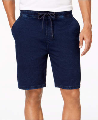 American Rag Men's Classic-Fit Stretch Denim Knit Shorts