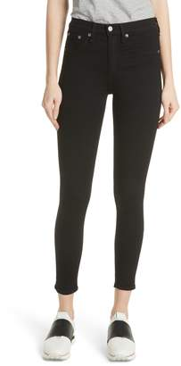Rag & Bone High Waist Ankle Skinny Jeans