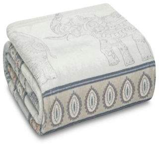 Bed Bath & Beyond Odine Throw Blanket in Light Grey