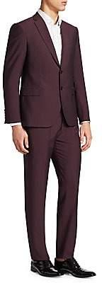 Emporio Armani Men's Merlot M Line Suit