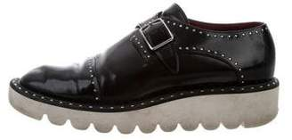 Stella McCartney Studded Monk Strap Oxfords