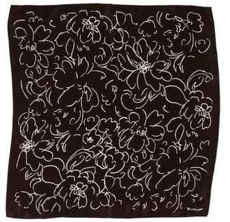 Ralph Lauren Silk Floral Print Scarf