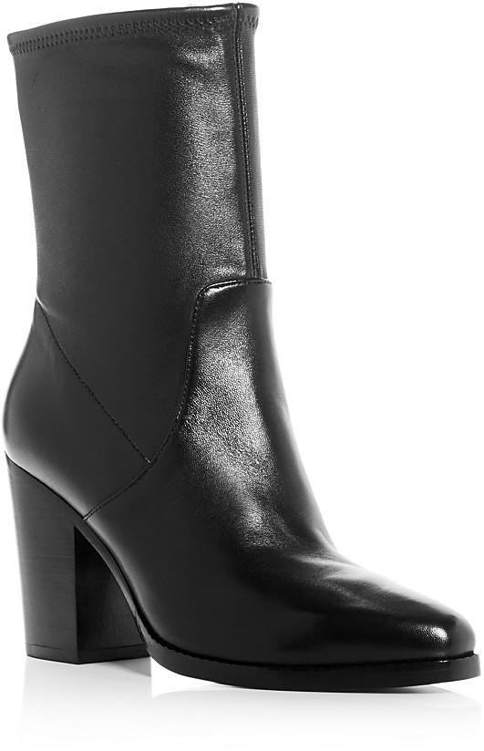 Michael Kors Collection Eloise Stretch High Heel Booties