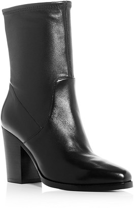 Michael Kors Collection Eloise Stretch High Heel Booties $595 thestylecure.com