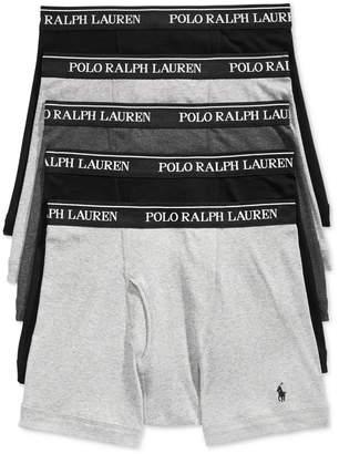 Polo Ralph Lauren Men's 5 Pack Boxer Briefs