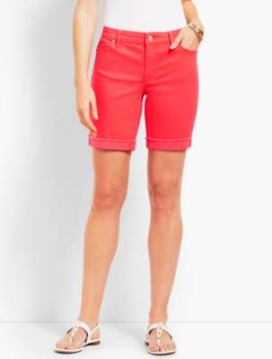 "Talbots 7"" Colored Denim Short"