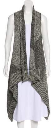 Alice + Olivia Sleeveless Knit Cardigan