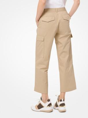 MICHAEL Michael Kors Cotton-Twill Cargo Pants