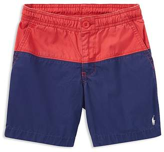 Polo Ralph Lauren Boys' Color-Block Poplin Shorts - Little Kid