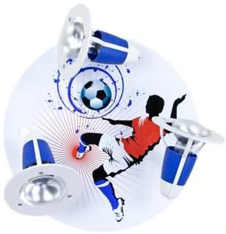 Elobra Ceiling Light Fu Soccer ball Blue/White